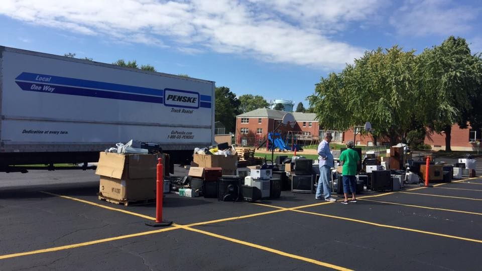 Cybergreen Community Recycling Event