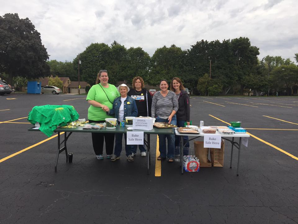 Bake Sale at Community Recycling Event