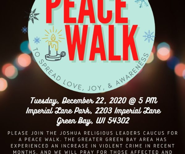 Thumbnail for the post titled: Peace Walk Event