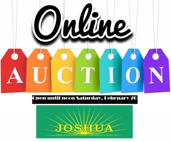 Thumbnail for the post titled: joshua4justiceauction.org